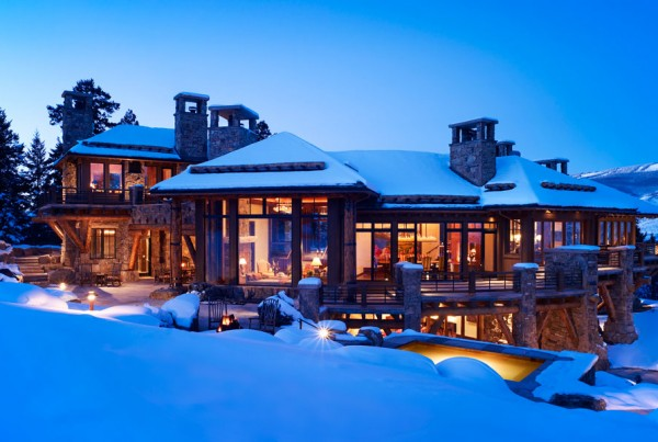 Bachelor Gulch Residence Ski-in Ski-out beaver creek mountain Home